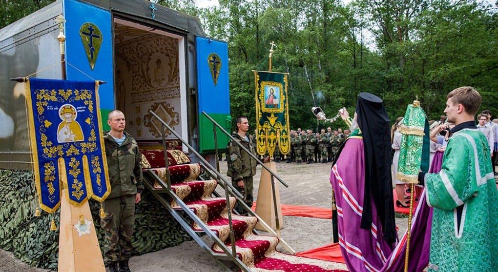 У белорусских десантников появилась своя передвижная часовня