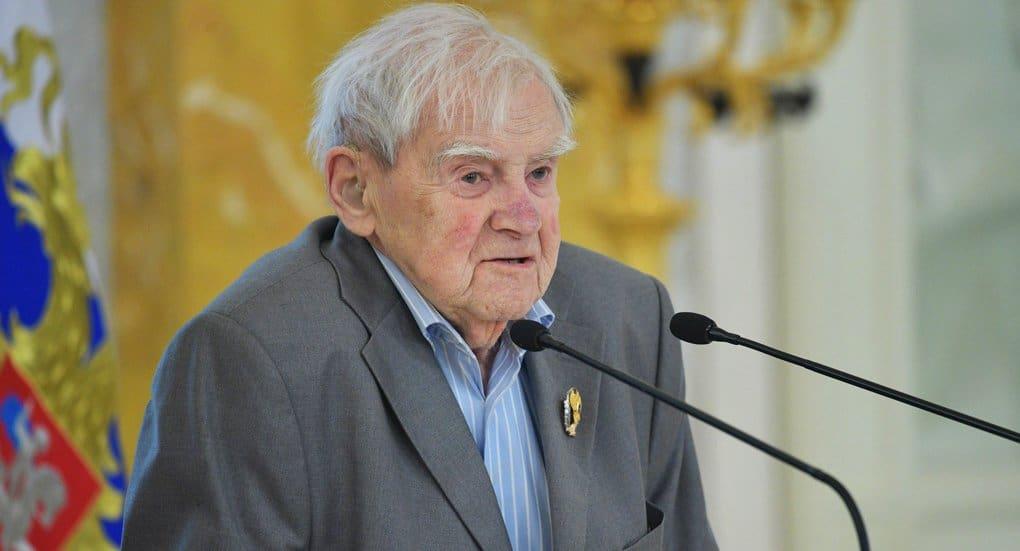 В 2019 году в России отметят 100-летие Даниила Гранина