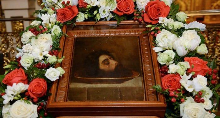 Церковь празднует Третье обретение главы святого Иоанна Предтечи
