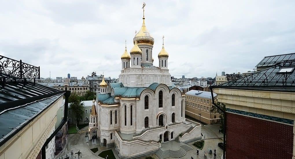 Ректор МАрхИ назвал храм на Лубянке новой страницей в истории православного зодчества