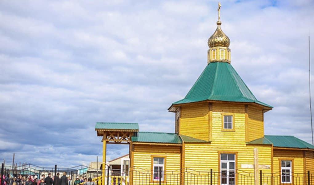 В самом холодном городе мира освятили храм блаженной Матроны