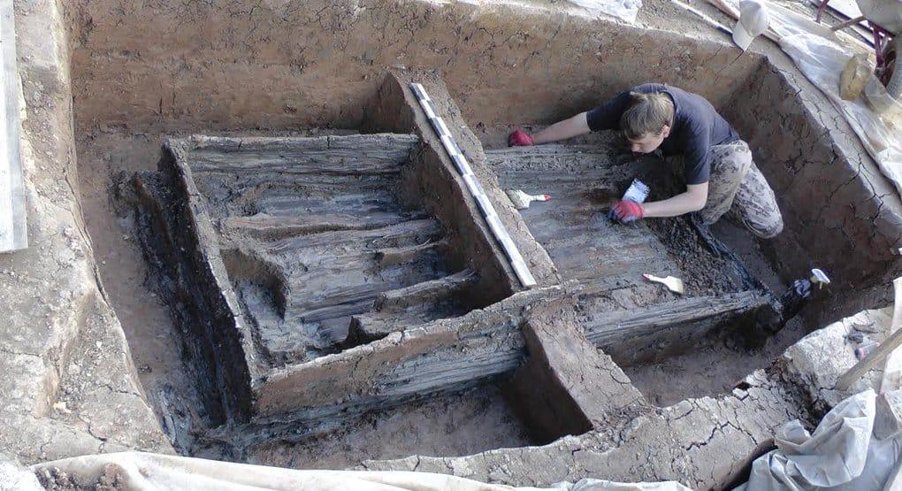 Впервые найдено кладбище древних новгородцев