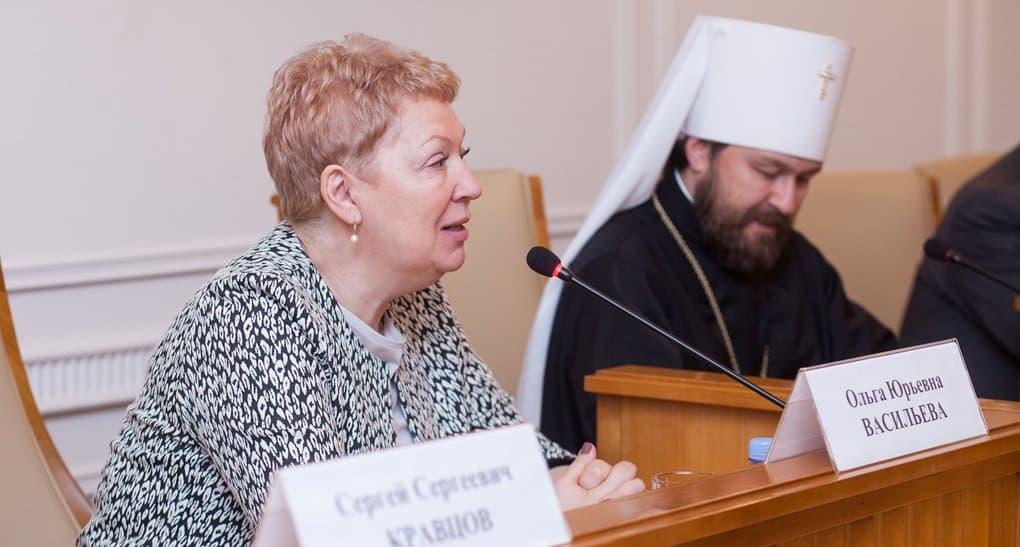 Ольга Васильева призвала доказать оппонентам, что теология – серьезная научная отрасль