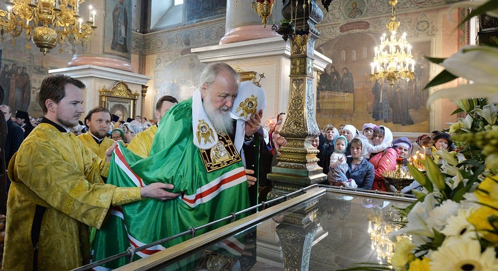 Патриарх Кирилл посетил один из древнейших монастырей Вятского края