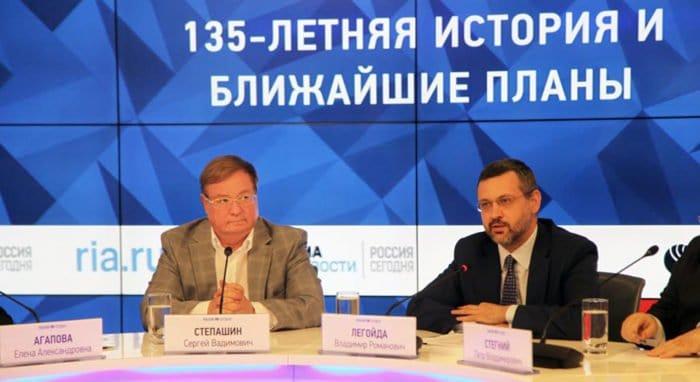 Владимир Легойда отметил созидательную роль Императорского Православного Палестинского Общества