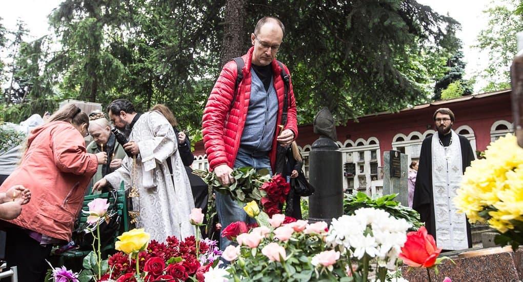 Панихида на могиле Доктора Лизы