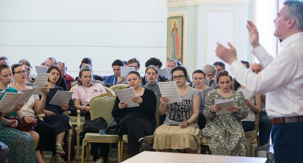В Московской епархии образован сводный хор