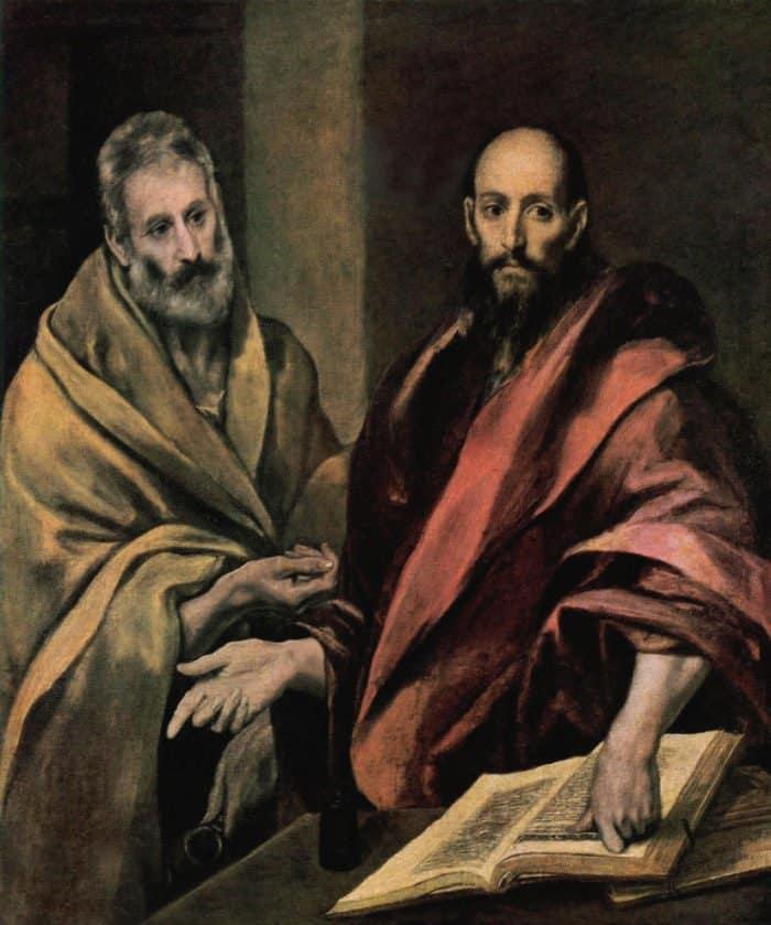'Апостолы Петр и Павел' Эль Греко