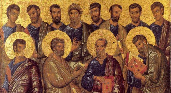 Церковь празднует Собор 12-ти апостолов