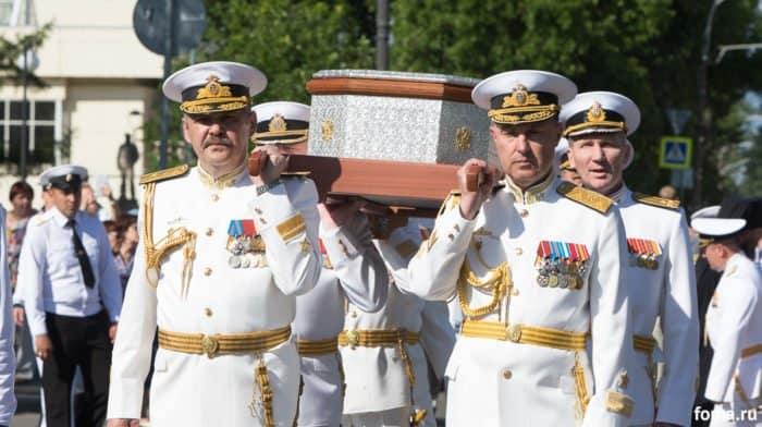 Небесный покровитель моряков в Кронштадте