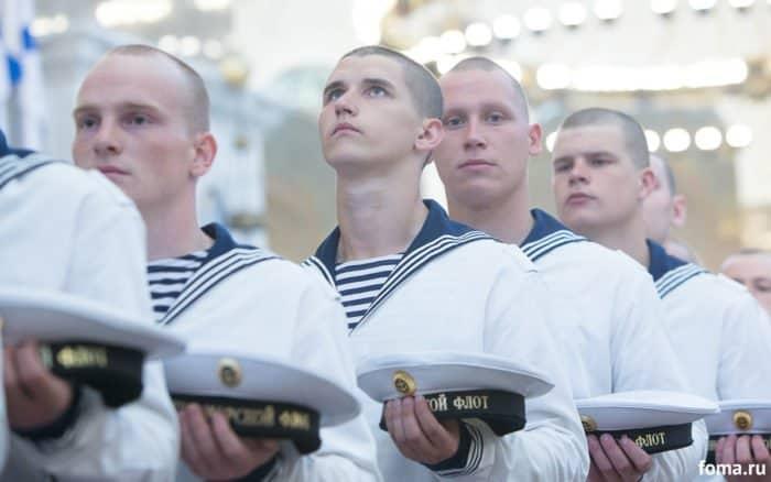 День ВМФ. Молитва. Лица