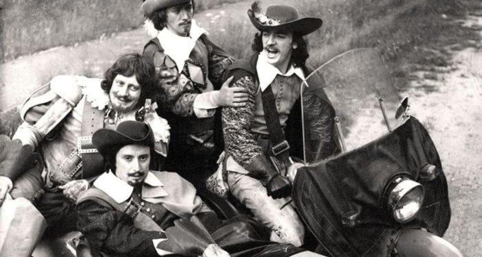 Любовь к трем мушкетерам