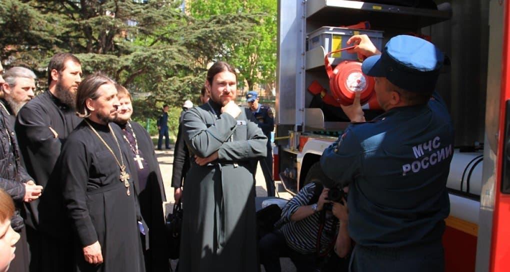 Русская Церковь и МЧС заключили соглашение о сотрудничестве
