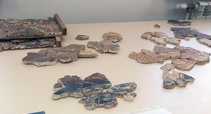 В Новгороде восстанавливают считавшиеся утраченными фрески XII века