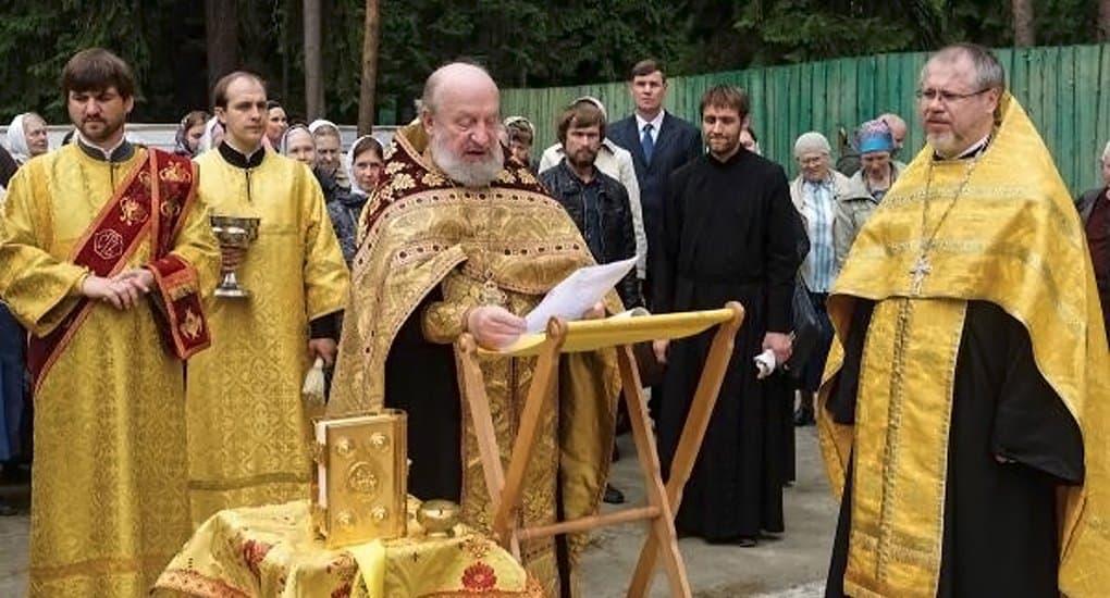 На месте массовых расстрелов под Петербургом заложили храм