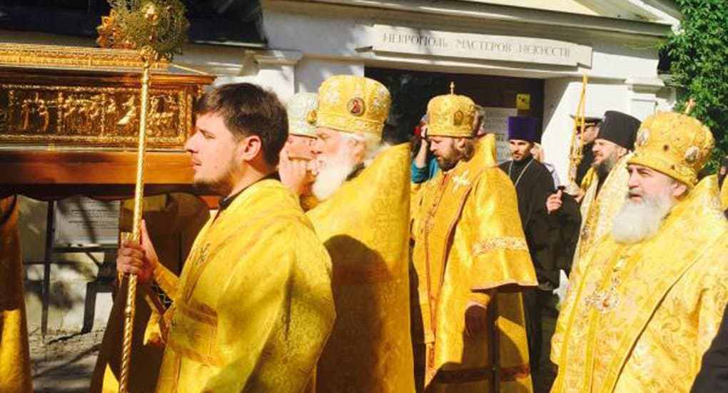 Мощи святителя Николая Чудотворца доставили в Петербург