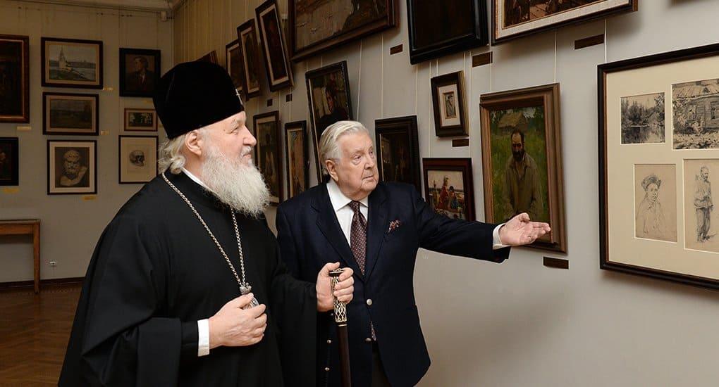 Илья Глазунов пытался донести до зрителя смысл Евангельского послания, - Патриарх
