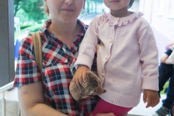 Шакира с дочерью Евой, Подольск
