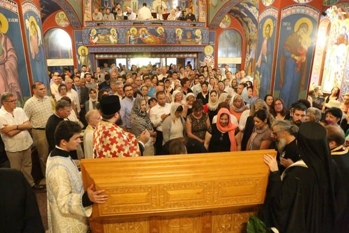 В США прославили первого сербского епископа на американской земле