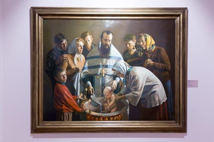 В музее «Царицыно» в иконах и картинах показывают семью России