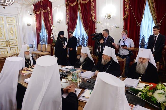 Подведены итоги заседания в Петербурге Священного Синода Русской Церкви
