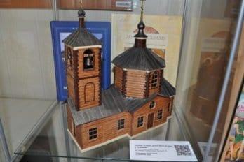 Модель церкви Успения Богородицы в Трахонеево (г. Химки)