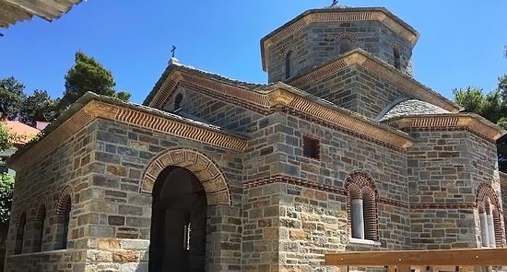На Афоне почти построен первый храм в честь святого Паисия Святогорца