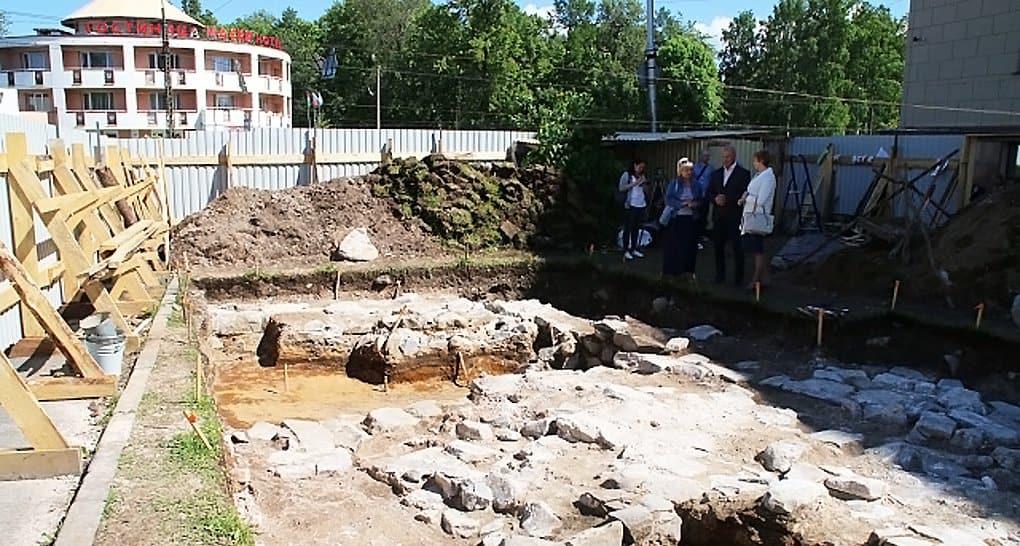 Остатки уникального пещерного храма нашли в Петрозаводске