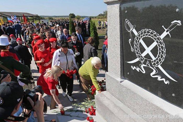 Героям победы Русской армии при Гросс-Егерсдорфе открыли мемориал