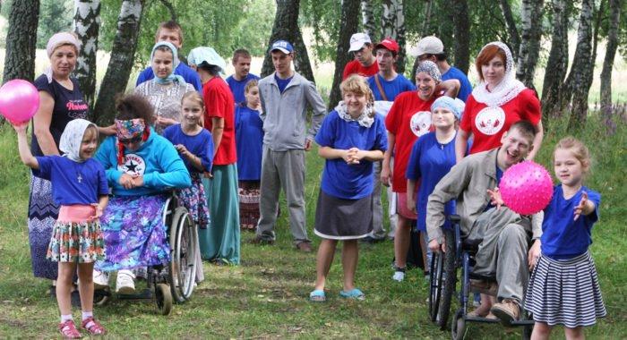 Калужский монастырь в четвертый раз организовал отдых для детей-инвалидов