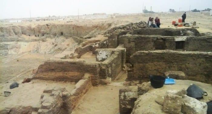 Большой монашеский комплекс V века найден в Египте