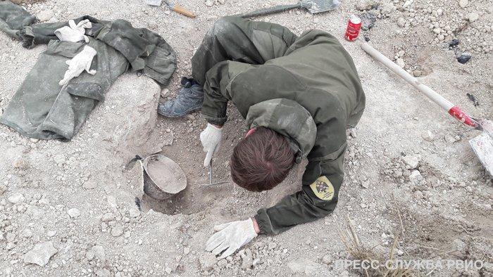 Во Франции найдены личные вещи русских солдат времен Первой мировой