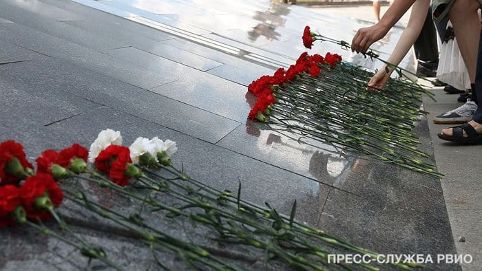 В Москве почтили память жертв и героев Первой мировой