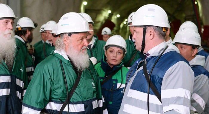 Патриарх поздравил российских шахтеров, отметив их самоотверженность
