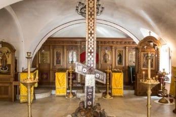 Кийский крест в храме Сергия Радонежского в Крапивниках