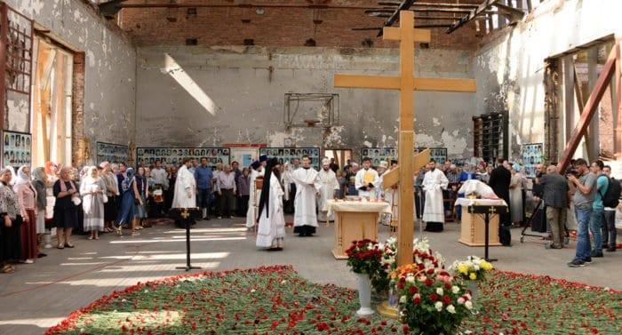 В Беслане помолились о жертвах атаки террористов на школу