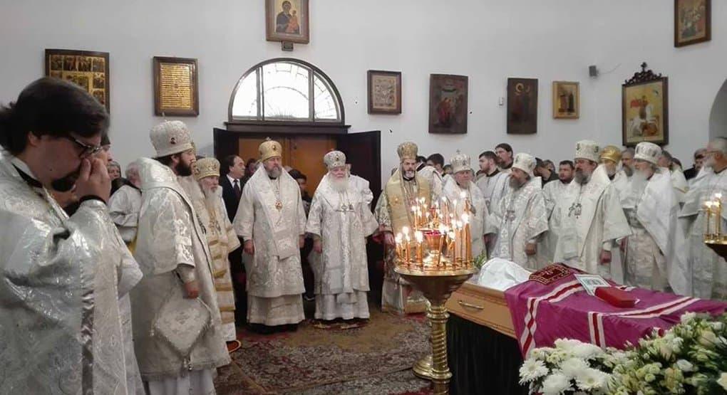 В Германии простились с архиепископом Феофаном