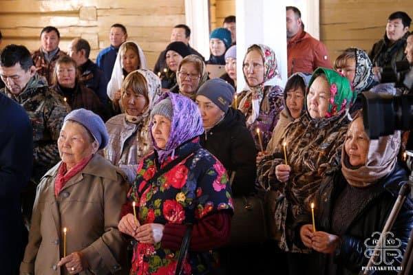 В якутском Горном улусе восстановили 120-летний храм
