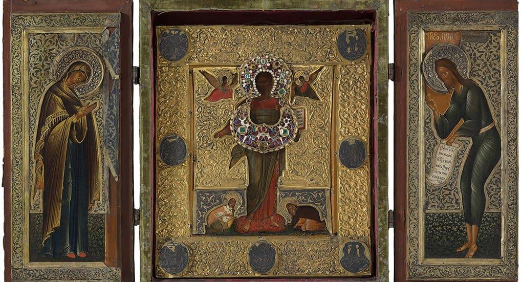 Иконы из разрушенных храмов Москвы покажут в Третьяковке