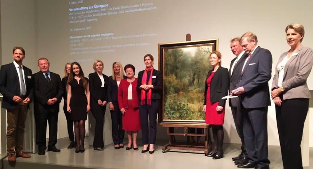 России вернули картину Василия Поленова, вывезенную во время войны