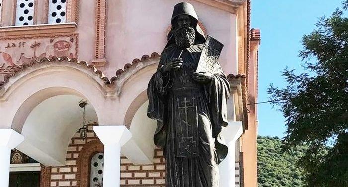 В Греции освятили подаренный Россией памятник Силуану Афонскому