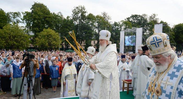 «Православный вестник» рассказал о визите Патриарха Кирилла в Выборг