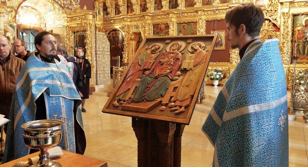 Дому-интернату слепоглухих в Сергиевом Посаде подарили тактильную икону