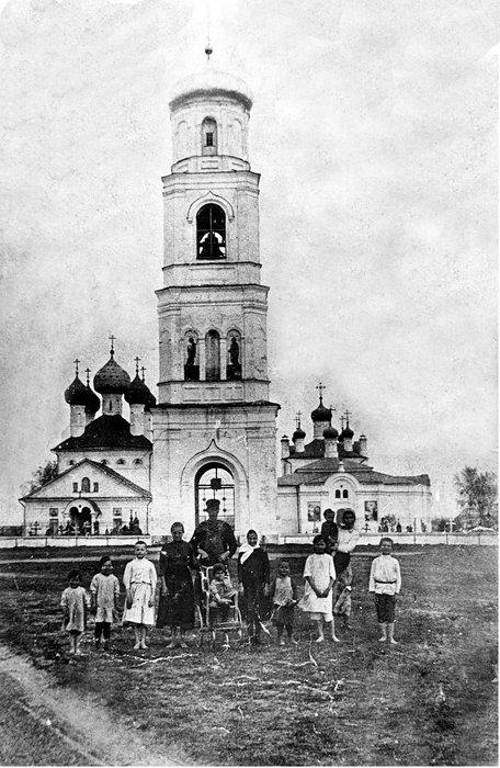 Успенская церковь села Завидово