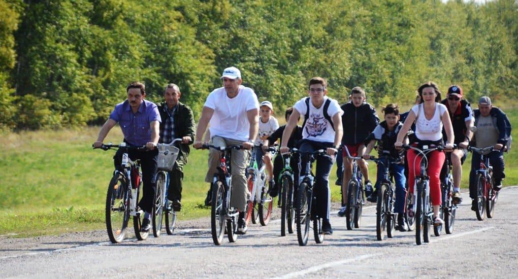 За здоровьем на велосипедах