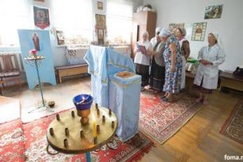 Больничный храм иконы Божией Матери «Всецарица» города Витебск, Белоруссия