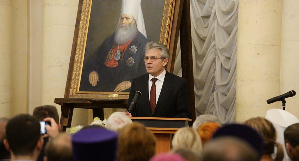 Глава РАН привел в пример ученым митрополита Макария (Булгакова)