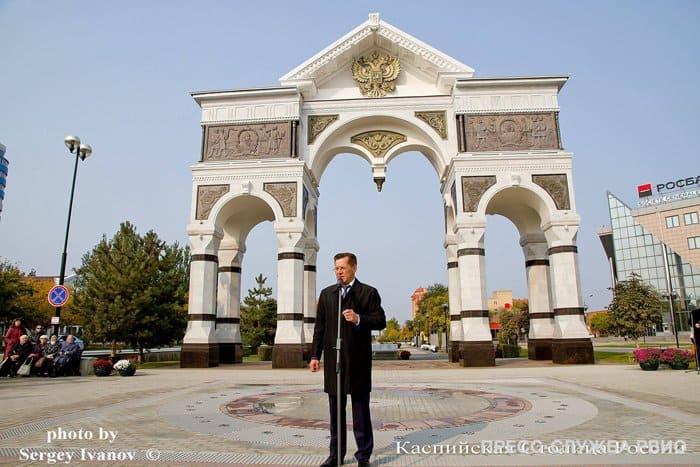 Героям Астраханской земли посвятили Аллею Славы