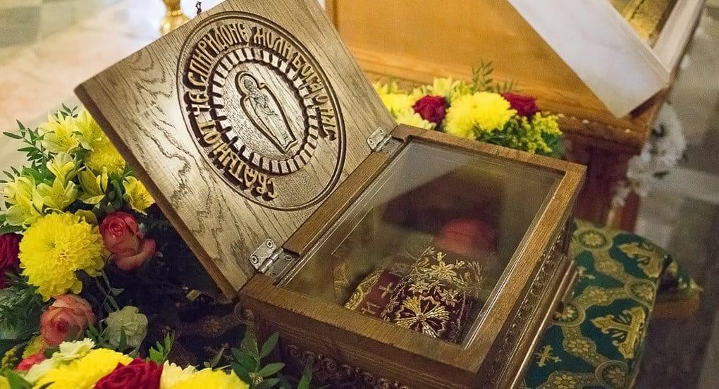 Башмачок Спиридона Тримифунтского принесли в Исаакиевский собор