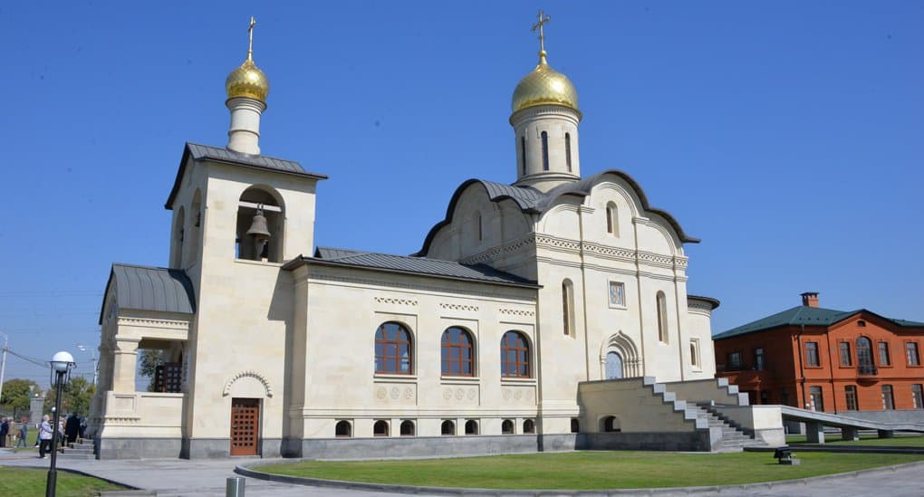 В Ереване освятили новый храм Русской Православной Церкви